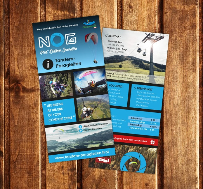 Flyer - Next Outdoor Generation
